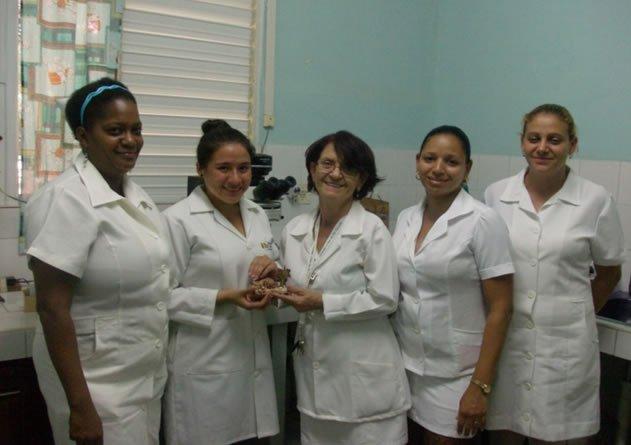Con éxito se desarrolló la pasantía otorgada a las dos mejores graduadas de la cuarta promoción en la Universidad de Ciencias Médicas de Villa Clara C